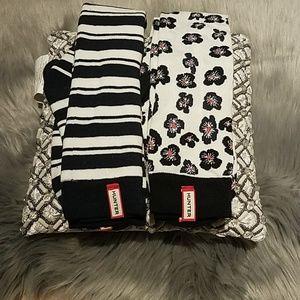 Hunter knee high socks( 2pack)